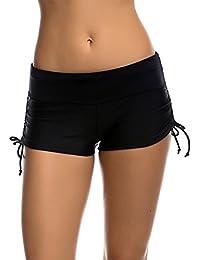 Imixcity® Femmes Shorts de Bain Classique S'adapter pour l' Yoga, Jogging, Natation、Plage 、Piscine