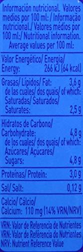 Pascual Leche Entera - Paquete de 6 x 200 ml - Total: 1.2 L