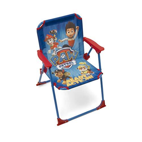 Arditex PW9506 - Silla Plegable para niños, diseño de'La Patrulla Canina', Tela, 38x32x53cm