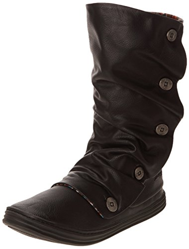 Blowfish - Stivali BF3247 Donna, Nero (Schwarz (Black)), 38