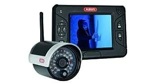 """ABUS TVAC15000 8,89cm (3,5"""") TFT-Monitor mit IR Funk-Außenkamera 2,4GHz"""