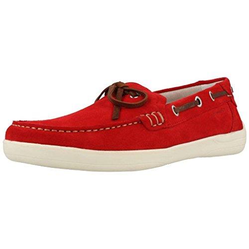 Scarpe da barca per gli uomini, color Rosso , marca STONEFLY, modelo Scarpe Da Barca Per Gli Uomini STONEFLY OCEAN 1 VELOUR Rosso