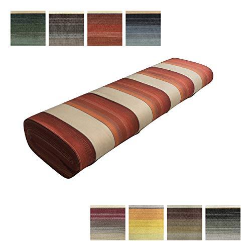 panini tessuti,tessuto per tende da sole da esterno a righe-venduto al mezzo metro- 1 quantita'=50 cm; 2 quantita'=1metro. larghezza fissa di 140 o 200 cm-tendoni da esterno,gazebo,veranda, portico