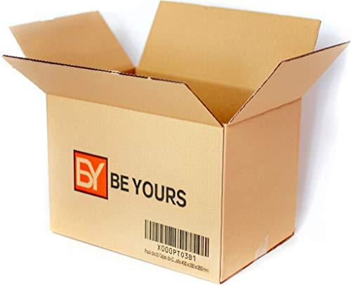 Este pack de 20 cajas de carton marca la diferencia! Olvídate para siempre de las cajas de baja calidad - Las cajas de cartón BeYours están fabricadas siguiendo los más estrictos controles de calidad - Construidas con los mejores materiales para adap...