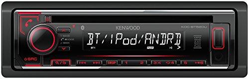 Kenwood KDC-BT520U CD-Receiver mit Apple iPod-Steuerung und Bluetooth-Freisprecheinrichtung schwarz (Radio Kenwood Mit Bluetooth)