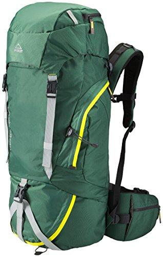 McKinley Kenai Trekking Mochila, color verde, tamaño 71 x 26 x 20 cm, volumen liters 45