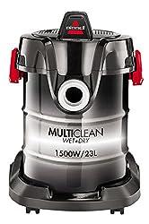 BISSELL 2026M MultiClean Mehrzwecksauger, Nass- & Trockensauger mit Gebläsefunktion, 1.500W, 7-teiliges Zubehör-Set, 23l