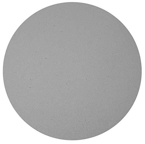 Caesarstone Runder Steinplatte Sleek Concrete 4003 rund 80cm x 2cm Stärke/Bistrotische / Gartentisch/Gastronomie
