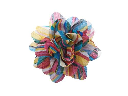 la-loria-accessoires-femme-clips-pour-chaussures-retro-flower-dans-la-couleur-bleu-vendus-par-paire