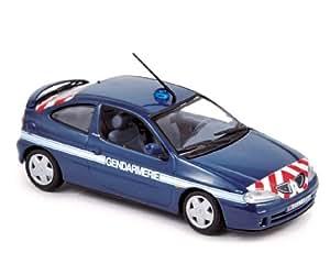 Norev - 517672 - Véhicule Miniature - Modèle À L'Échelle - Renault Mégane Coupe - Gendarmerie 2001 - Echelle 1/43