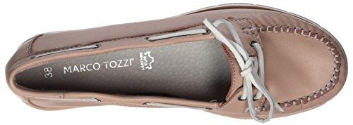Marco Tozzi Premio Damen 24613 Mokassin Pink (rose/white)