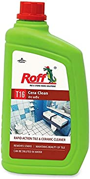 Pidilite T16 Roff Cera Clean Professional Tile, Floor and Ceramic Cleaner (1 Litre) - Concentrated liquid for