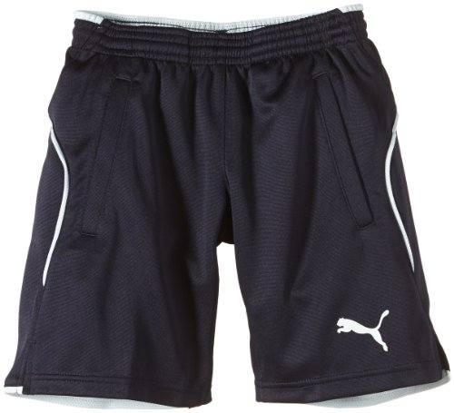Mesh Shorts Navy (PUMA Kinder Hose Training Shorts, new navy, 152, 653739 06)