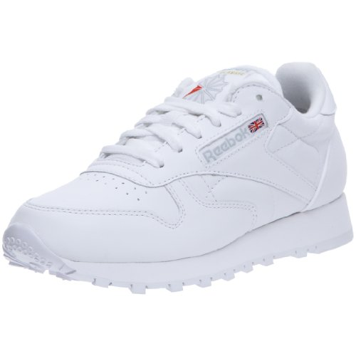 Reebok - Classic leather, Sneaker Donna, Bianco, 41