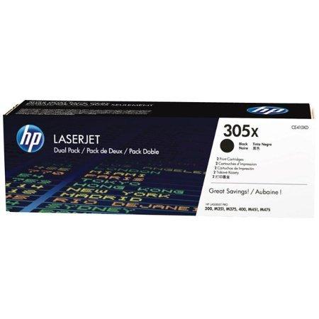 HEWLETT PACKARD HP Druckkassetten schwarz 2x8.000 Seiten CE410XD