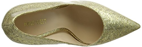 Nine West Tatiana, Escarpins femme Gold (Platino)