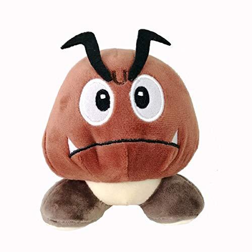 Descripción de la serie Super Mari: Estado: nuevo. Material: felpa, algodón, fibra sintética. Tamaño: 15 cm aprox. Goombas, originalmente conocido como Little Goombas, son una de las principales especies de la franquicia Mario. Desde su primera apari...
