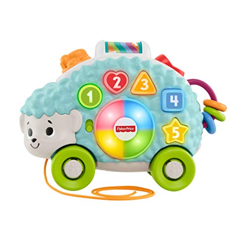 Fisher-Price Erizo Linkimals, Juguete interactivo bebés +9 meses Mattel, GJB06