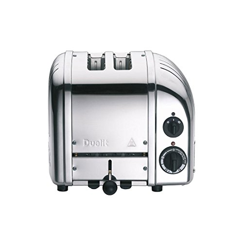 Dualit Classic NewGen Vario 2 Toaster, silber poliert handgefertigt