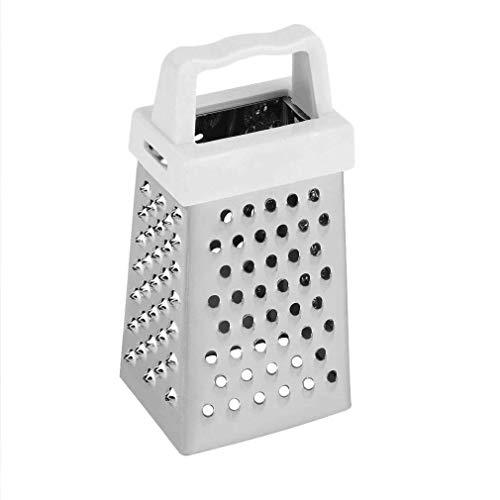 Acciaio inox multifunzione handheld 4lati grattugia per patate affettatrice
