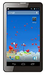 I KALL N1 (512+4GB) Dual Sim (3G+WIFI) Calling Tablet with 2800 mah battery capacity and 1 Year Warranty-Black
