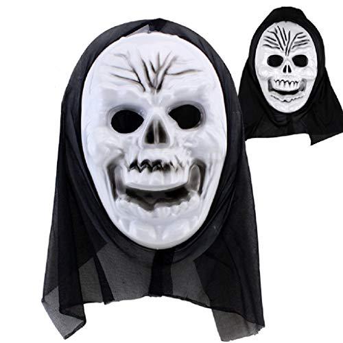 GAIHU Neuheit Halloween Scream Maske,Masque Animaux Adulte Für -