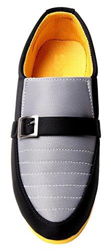 mocassin chaussures pour hommes occasionnels usure formelle parti glissent sur la conduite pantoufle chaussures Jaune