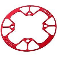 Ndier 2pcs Protector Funda de Bielas Manivela para Brazo Bicicleta de Monta/ña Carretera Rojo