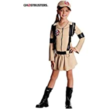 Girls Classic Ghostbusters Fancy dress costume Medium