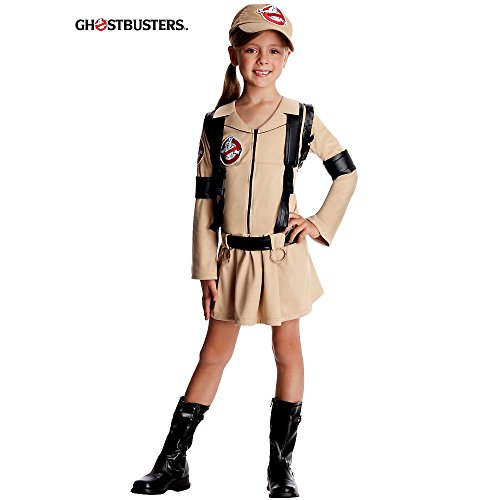 Rubies Ghostbusters Kostüm Geisterjägerin Kinderkostüm - (Ghost Kostüme Buster)