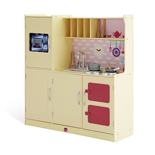 Plum- Cottage Buttercup Interactive Wooden Kitchen Cocina, Color Natural (41075)