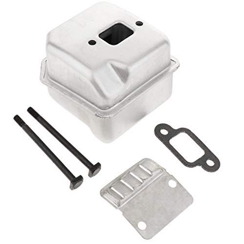 Hochwertige Rasenmäher Schalldämpfer für Stihl 017 018 MS170 MS180 Kettensäge, einfach instaliert