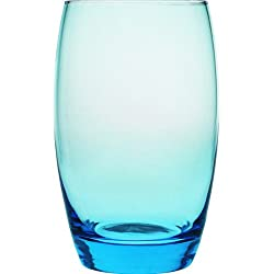 Arcoroc Salto Ice Blue Highball Tumbler, 350ml, Set of 6