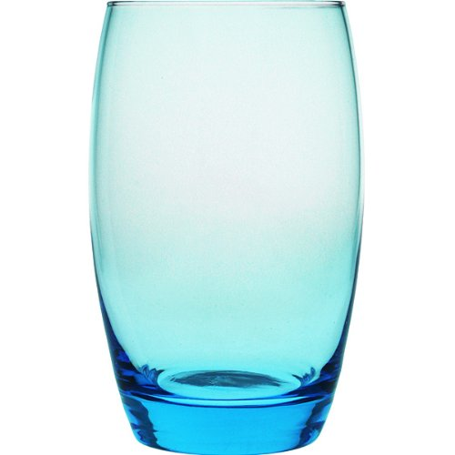 Arcoroc ARC C9687 Salto Ice Blue Longdrinkglas, 350 ml, Glas, transparent, 6 Stück
