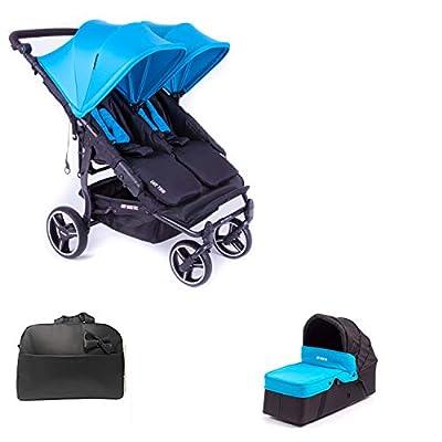Baby Monsters Silla Gemelar Easy twin 3.0.S + 1 Capazos + Regalo Bolso - Danielstore