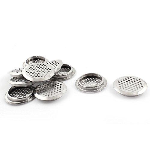 Küche Hardware Louver 53mm Unterseite Durchmesser Metall runder Entwurf Air 10 de