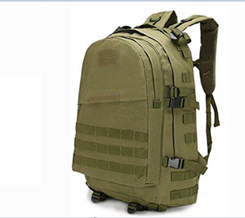 LWJgsa Outdoor - Fan Packt Camouflage - Taktik Rucksack Tour Camping Spezialeinheiten In Der Tasche army green