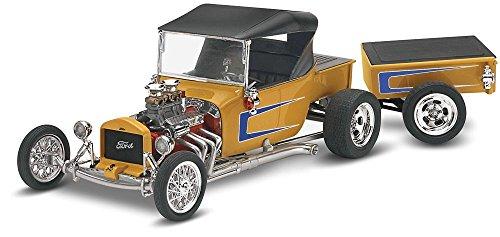 Maquette Revell Monogram Échelle 1/2 Ford T Street Rod avec remorque (Multicolore).