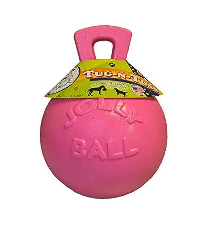 Jolly Pets JOLL046D Hundespielzeug - Tug-n-Toss, 20 cm, pink