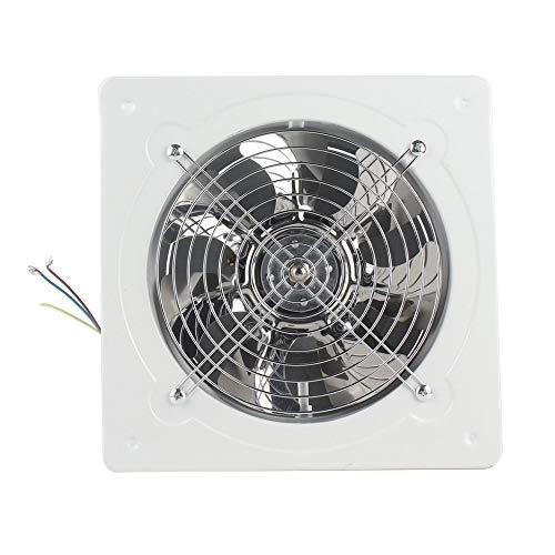 eegwbang Ventilatore di Ventilazione Industriale Scarico assiale in Metallo Ventilatore per Ventilatore Commerciale Nero