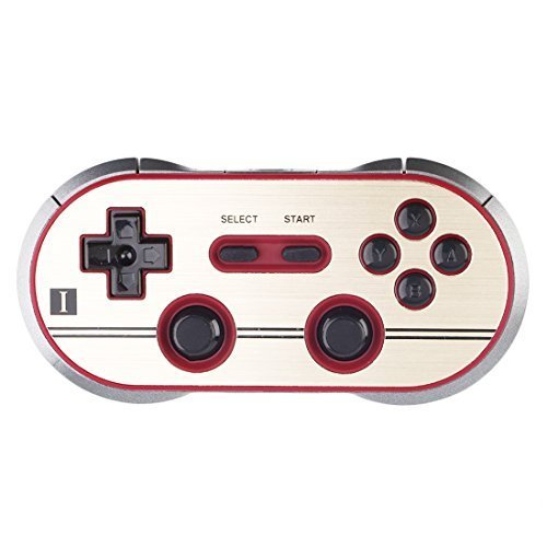 Game Controller, YIKESHU 8Bitdo F30 PRO Controller Arbeit mit Nintendo Switch, Tragen YIKESHU Ring Stand - Wii-spiele, Mode
