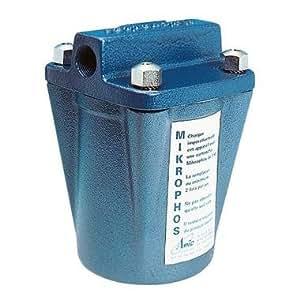 Filtre anti-calcaire Mikrophos - 1 m³/j / 185 x 138 x 138 / 1 kg / 7 kg