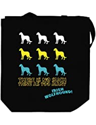 THERE IS NO SUCH THING AS TOO MANY Irish Wolfhound Canvas Tote Bag