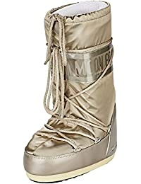 Moon Boot Glance - Botas de nieve, talla: 31/34, color: Plateado 001
