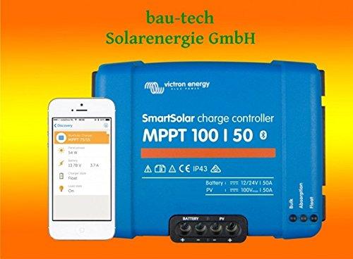 Victron SmartSolar MPPT Laderegler 150/35 12V 24V 36V 48V Bluetooth Dongle integriert SCC115035210 - 36v Controller Solar Charge