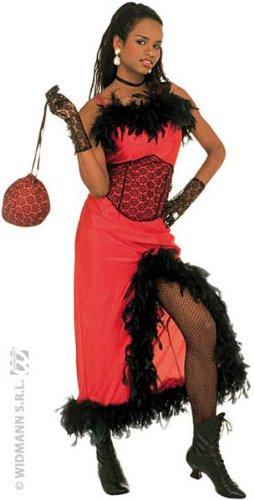 WIDMANN Damen Saloon Madame Kostüm S 36-38 für Moulin Rouge Wild West Kostüm