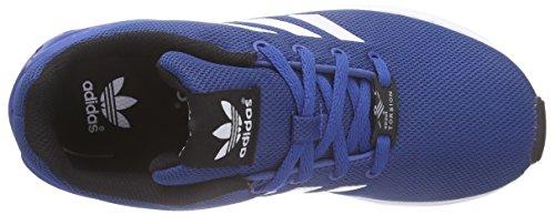 adidas Originals ZX Flux, Baskets Basses Mixte Enfant Bleu (Eqt Blue S16/Ftwr White/Core Black)