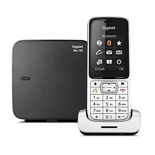 Gigaset SL450 Telefon - Schnurlostelefon / Mobilteil - mit Farbdisplay - Freisprechen - Design Telefon / schnurloses Telefon - platin schwarz
