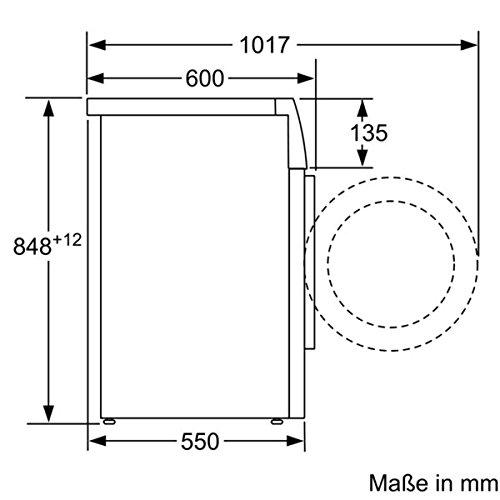 Siemens iQ300 WM14N140 Waschmaschine / 6,00 kg / A+++ / 137 kWh / 1.400 U/min / Schnellwaschprogramm / Nachlegefunktion / aquaStop mit lebenslanger Garantie / - 8