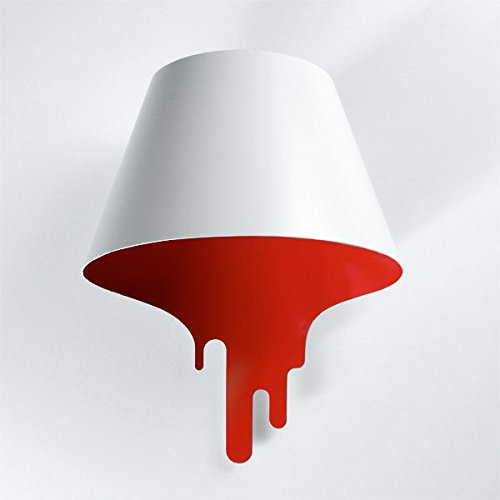 LIYAN minimalistische Wandleuchte Wandleuchte E26/E27 Japanische mode Persönlichkeit Flüssigkeit geschmolzen Flüssigkeit Wandleuchten Wohnzimmer/Schlafzimmer leuchten, 300*400 mm (Metall Geschmolzen,)